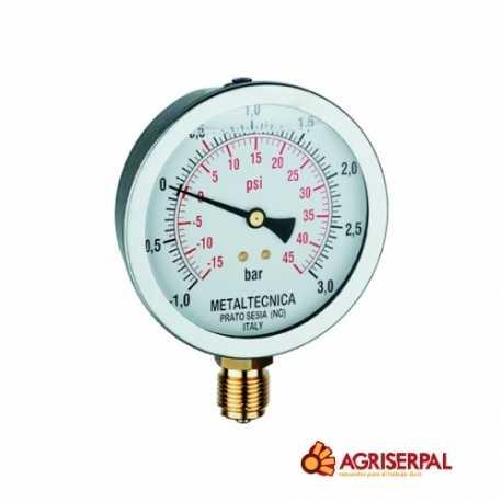 Manovacuómetro de glicerina
