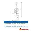 Válvula limitadora de presión RIV 90250
