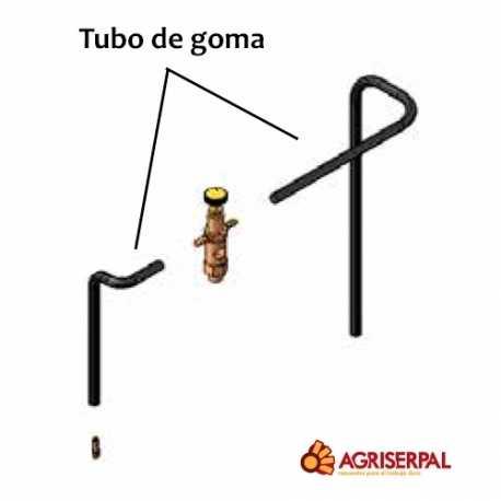Tubo de goma 5x10,5x210