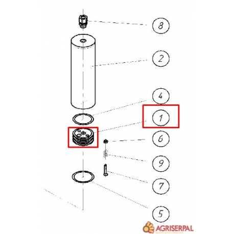 N. 1. Embolo accionamiento hidráulico