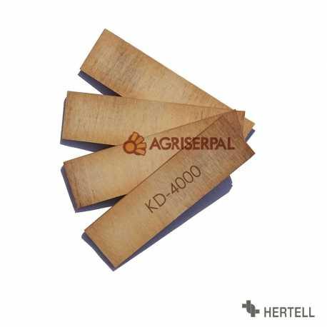 Juego de 4 Paletas Hertell KD-4000