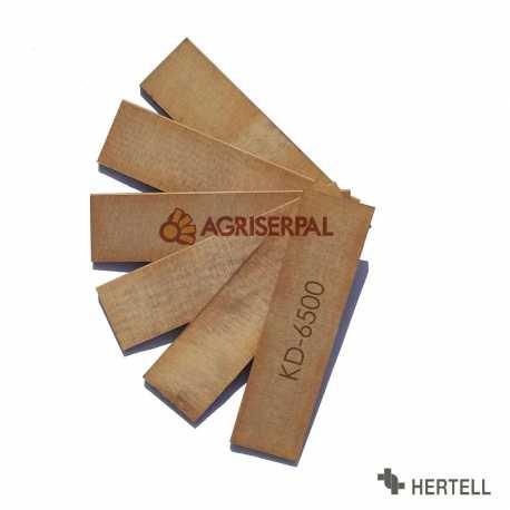 Juego de 6 Paletas Hertell KD-6500
